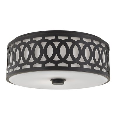 Maspeth 3-Light Flush Mount Finish: Old Bronze