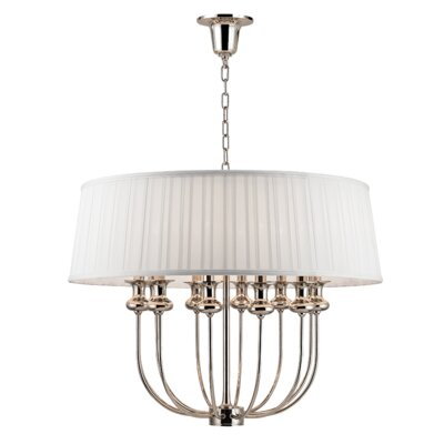 Ellum 12-Light Drum Pendant Finish: Polished Nickel