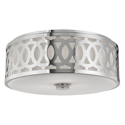 Maspeth 3-Light Flush Mount Finish: Polished Nickel