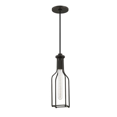 Reece 1-Light Mini Pendant Finish: Old Bronze