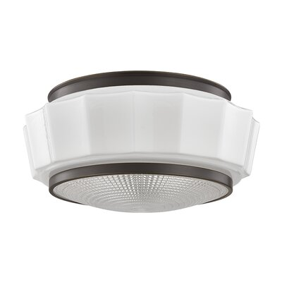 Kobe 2-Light Flush Mount Finish: Old Bronze