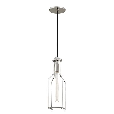 Reece 1-Light Mini Pendant Finish: Polished Nickel