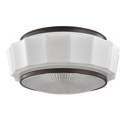 Kobe 3-Light Flush Mount Finish: Old Bronze