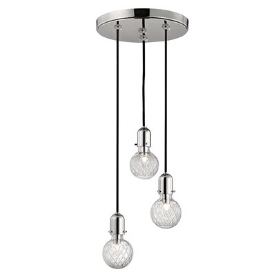 Kyler 3-Light Mini Pendant Finish: Polished Nickel