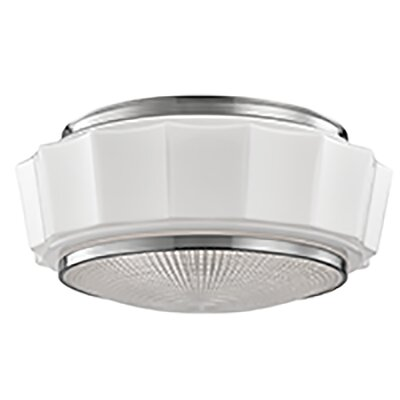 Kobe 3-Light Flush Mount Finish: Satin Nickel