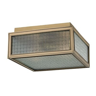 Ellsworth 2-Light Semi-Flush Mount Finish: Aged Brass