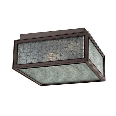 Ellsworth 2-Light Semi-Flush Mount Finish: Old Bronze