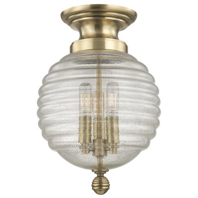 Lazo 14.5 Table Lamp Finish: Aged Brass