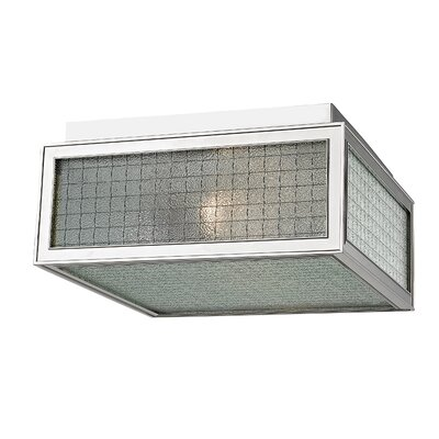 Ellsworth 2-Light Semi-Flush Mount Finish: Polished Nickel