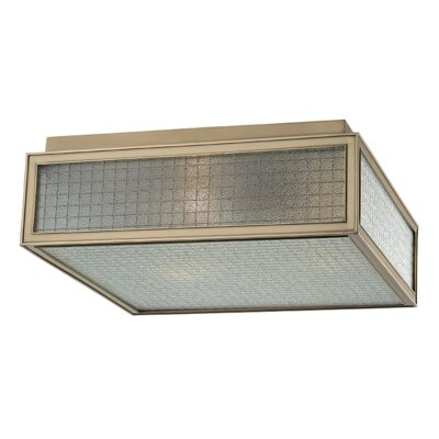 Ellsworth 3-Light Semi-Flush Mount Finish: Aged Brass