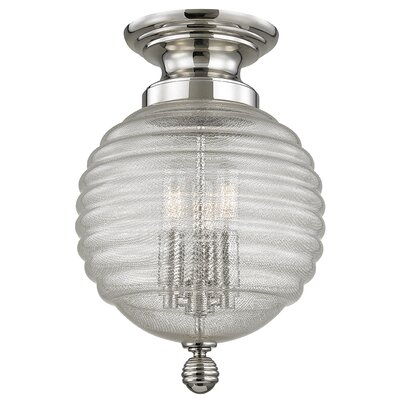 Lazo 14.5 Table Lamp Finish: Polished Nickel
