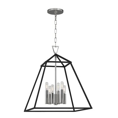 Tristian 6-Light Foyer Pendant Finish: Polished Nickel