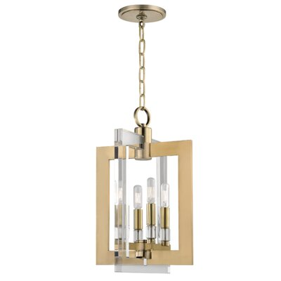 Mott 4-Light Mini Pendant Finish: Aged Brass