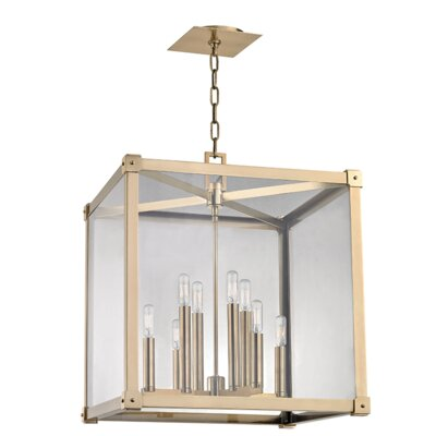 Moncontour 8-Light Pendant Finish: Aged Brass