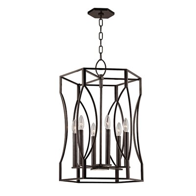 Roswell 6-Light Pendant Finish: Old Bronze