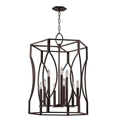 Alonzo 9-Light Foyer Pendant Finish: Old Bronze