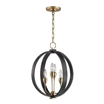 Dresden 4-Light Globe Pendant Finish: Aged Old Bronze
