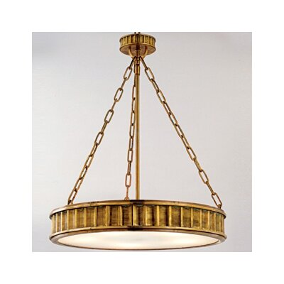 Middlebury 5-Light Pendant Finish: Aged Brass
