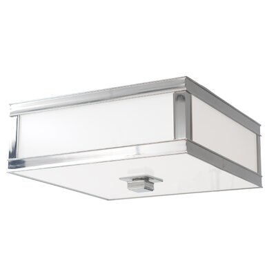 Destanee 3-Light Flush Mount Finish: Polished Nickel