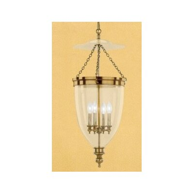 Philipston 4-Light Foyer Pendant Color: Aged Brass