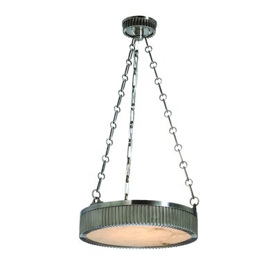 Lynden Drum Pendant Size / Finish: 16 / Antique Nickel
