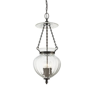 Eric 4-Light Foyer Pendant Finish: Polished Nickel