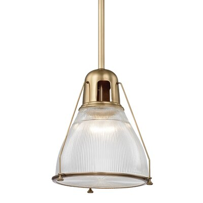 Margo 1-Light Pendant Finish: Aged Brass