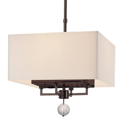 Emsley 4-Light Drum Pendant Size / Finish: 15.75