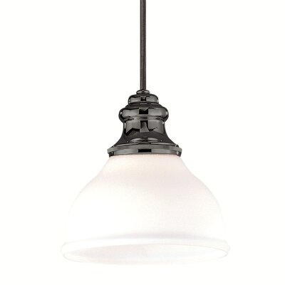 Ennis 1-Light Mini Pendant Finish: Antique Nickel