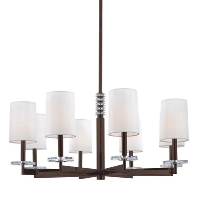 Chelsea 8-Light Drum Chandelier Finish: Old Bronze