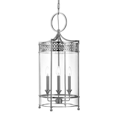 Emelia 3-Light Mini Foyer Pendant Finish: Polished Nickel