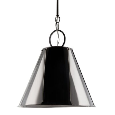 Molly 1-Light Metal Pendant Finish: Polished Nickel