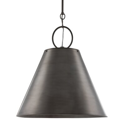 Molly 1-Light Pendant Finish: Historic Nickel
