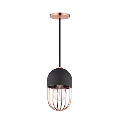 Galien 1-Light Mini Pendant Finish: Polished Copper