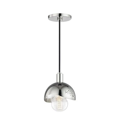 Galina 1-Light Mini Pendant Finish: Polished Nickel