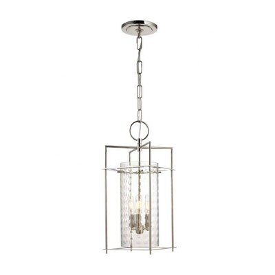 Hassan 3-Light Foyer Pendant Finish: Polished Nickel