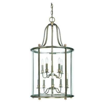 Faun 10-Light Foyer Pendant Finish: Distressed Bronze