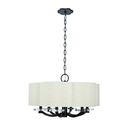 Maya 6-Light Drum Pendant Finish: Old Bronze