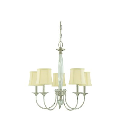 Elburn 5-Light Shaded Chandelier