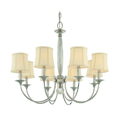 Elburn 8-Light Shaded Chandelier
