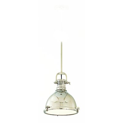 Argana 1-Light Pendant Finish: Polished Nickel