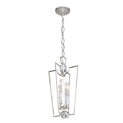 Marion Foyer Pendant Size: 25.75 H x 13 W