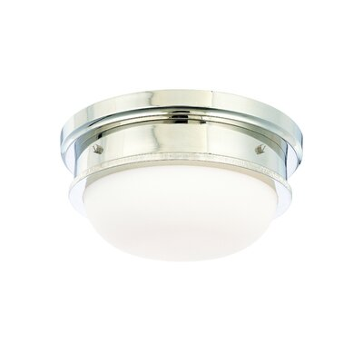 Elisa 2-Light Flush Mount Finish: Polished Nickel