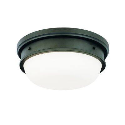 Elisa 3-Light Flush Mount Finish: Old Bronze