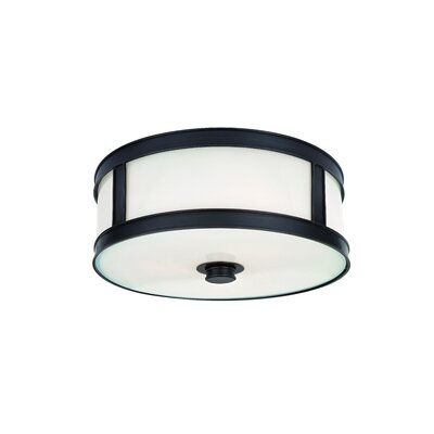 Hoeppner 3-Light Flush Mount Finish: Old Bronze
