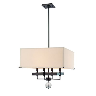 Emsley 4-Light Pendant Finish: Old Bronze