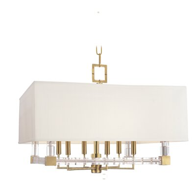 Montauk 6-Light Pendant Finish: Aged Brass