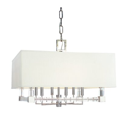 Montauk 6-Light Pendant Finish: Polished Nickel