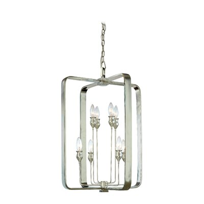 Kolton 8-Light Foyer Pendant Finish: Polished Nickel