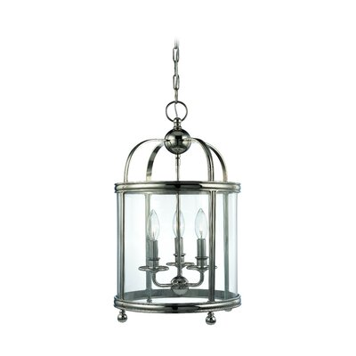 Elyria 3-Light Foyer Pendant Finish: Polished Nickel